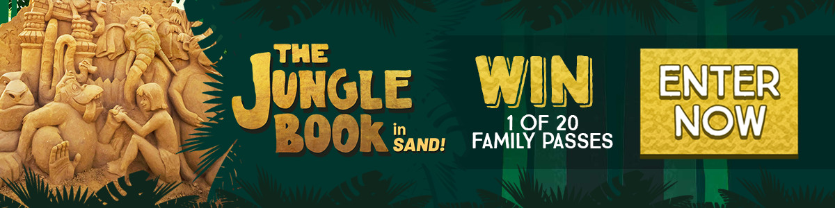 Sand jungle book banner