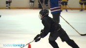 Ice Hockey kid