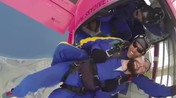 Skydiver crash
